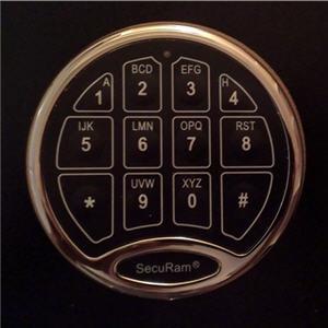 securam-digital-push-button-electronic-lock-on-snapsafe-titan-closet-vault