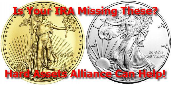 gold ira account at hard assets alliance