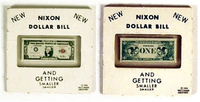 why invest in gold, nixon dollar bill