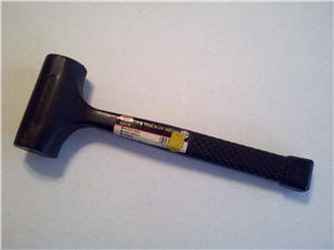 Persuader Dead Blow Hammer for Little Titan Home Safe Assembly