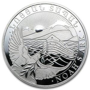 armenian-noahs-ark-silver-bullion-coin-obverse