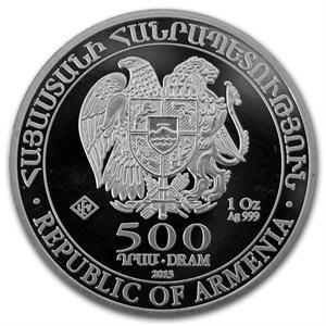 armenian-noahs-ark-silver-bullion-coin-reverse