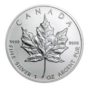 one-ounce-silver-canadian-maple-leaf-coin