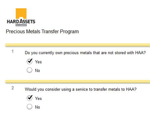Transfer Your Gold To Secure Vault Storage At Hard Assets Alliance