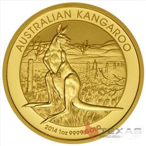 texas precious metals australian gold kangaroo coin