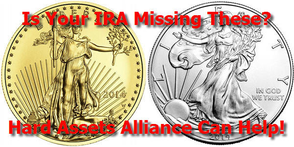 gold ira account at hard assets alliance