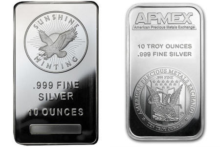 Jm Bullion Vs Apmex 10oz Silver Bars