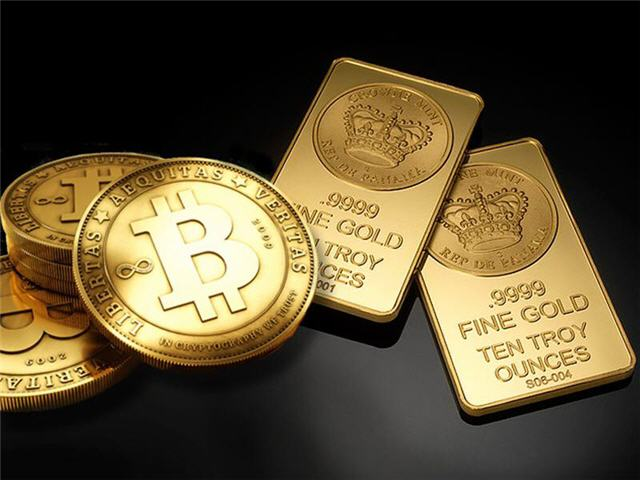 2019 Bitcoin or Gold Bars